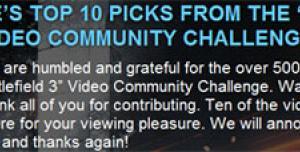 Финалисты конкурса Only in Battlefield 3