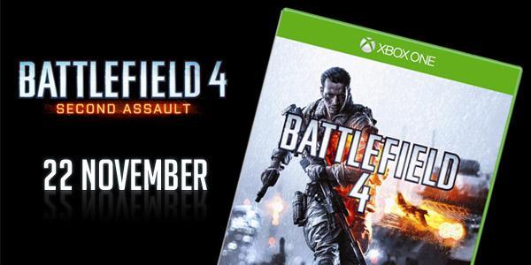 Second Assault появится в день выхода Xbox One