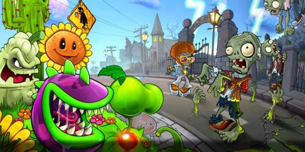 Пасхальные яйца и другие «плюшки» игры «Растения против зомби»!