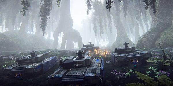 Хоссин: в PlanetSide 2 появился новый континент