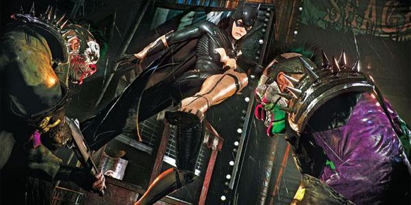 Batman: Arkham Knight - Бэтгёрл против Джокера в DLC A Matter of Family