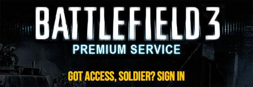 Battlefield 3 Premium – это не слух