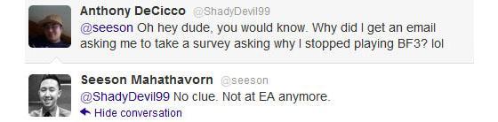 Сисон Махатаворн тихо покинул EA
