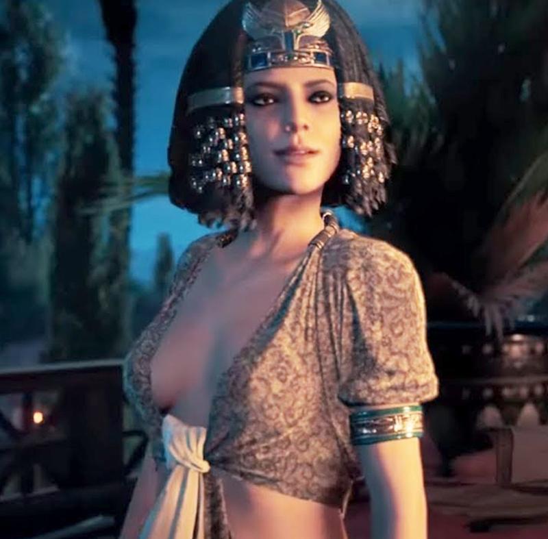 Стало известно, была ли Клеопатра из Assassin's Creed: Origins развратна в реальности