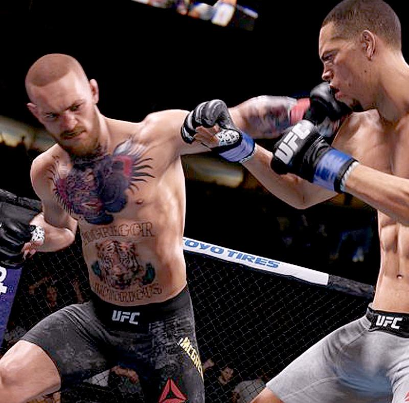 Вышел первый трейлер игры EA Sports UFC 3 с боями MMA и Конором Макгрегором