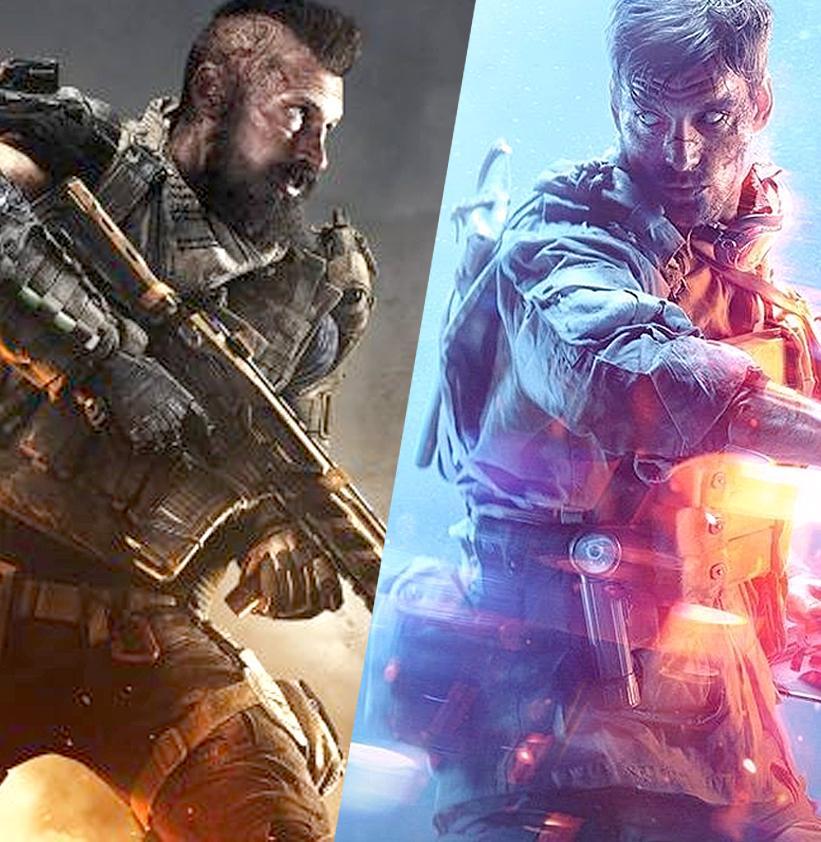 В Королевской битве Call of Duty больше игроков, чем в Battlefield V