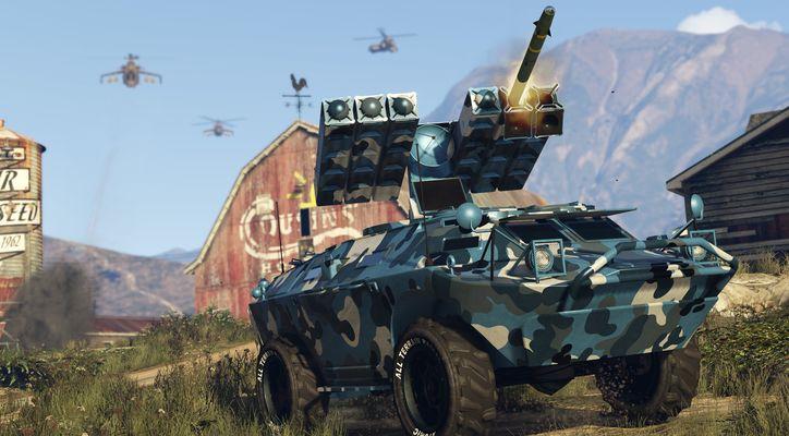 В GTA Online добавили похожий на PUBG режим