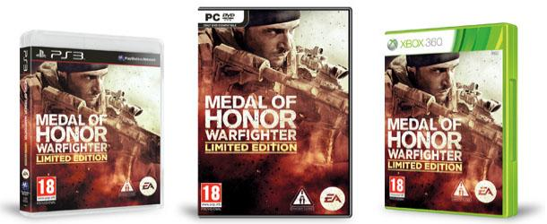 Предварительный заказ Medal of Honor Warfighter