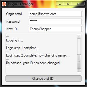 Как поменять ник в Battlefield 3