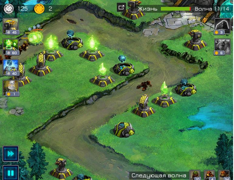 Лучшие браузерные игры жанра Tower Defense