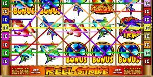 Reel Strike – игровой слот от Вулкан на рыболовную тематику