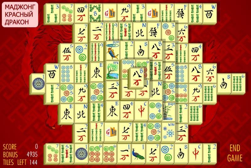 Основные правила и разновидности пасьянса Маджонг