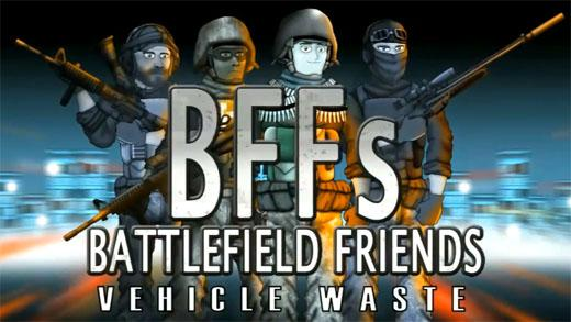 Battlefield Friends - Vehicle Waste (Русская версия)