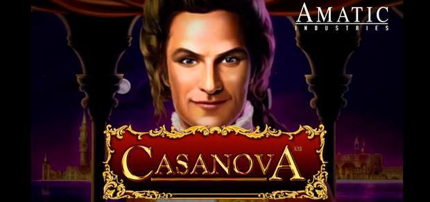 Характеристики игрового автомата Casanova от студии Amatic