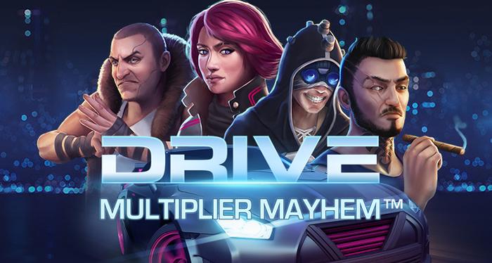 Бонусные опции игрового автомата Drive из казино Фреш