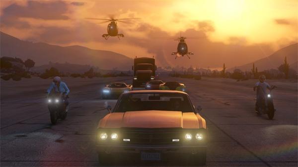 GTA Online - Мировая премьера сетевого режима GTA5