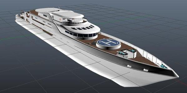 В следующем патче GTA V может появиться огромная яхта