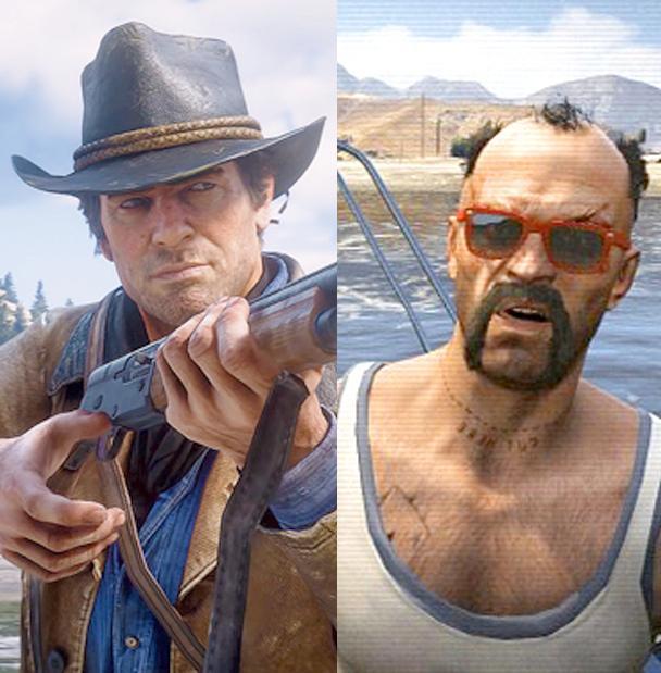 GTA V и Red Dead Redemption 2 сравнили разработчики