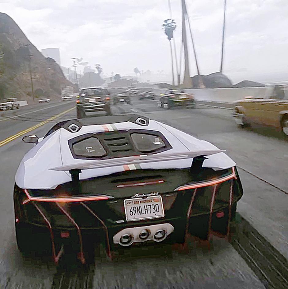 GTA 5 увеличили графику до GTA 6 для мощнейших ПК