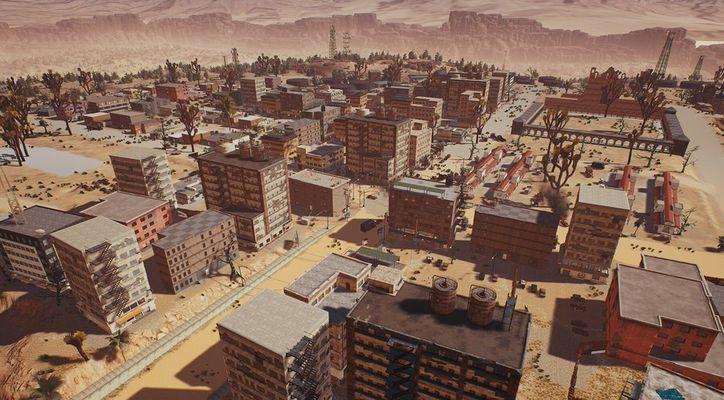 Создатели PUBG показали новую карту