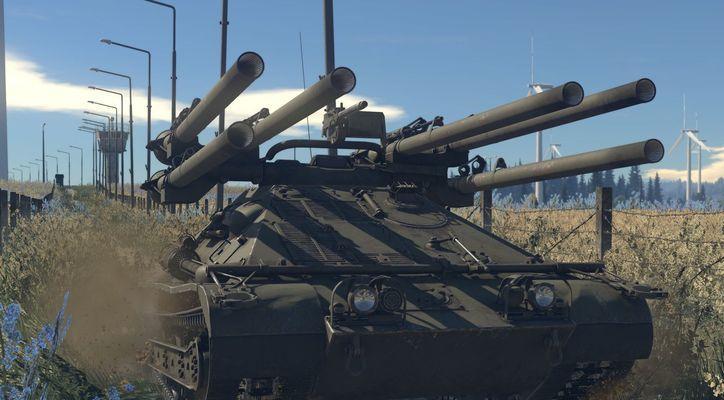 В War Thunder добавят шестой ранг наземной техники