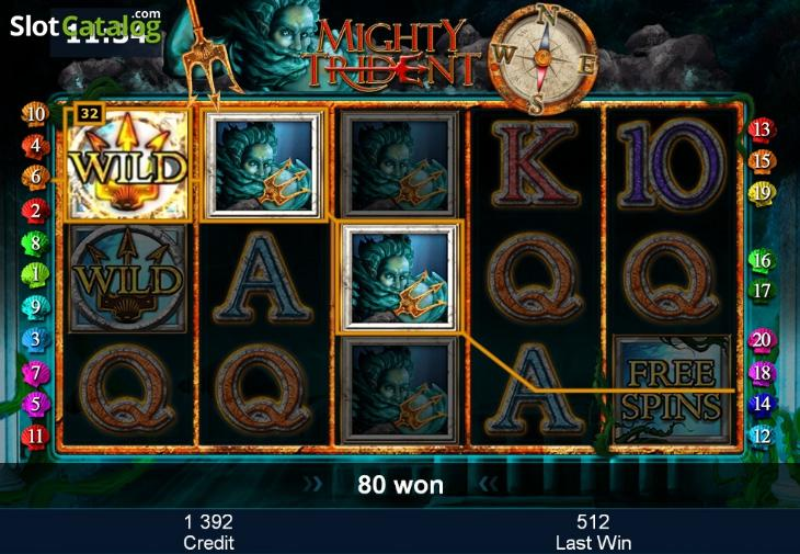 Mighty Trident – игровой слот о Древней Грации!