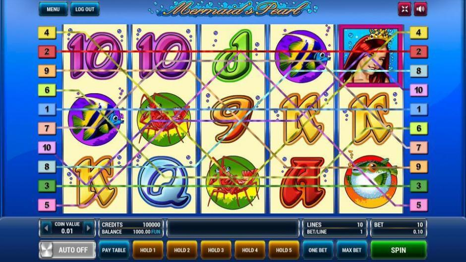 Обзор игрового автомата Mermaids Pearl от Вулкан
