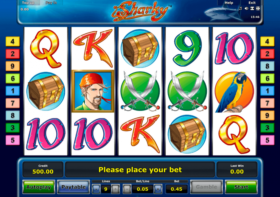 Игровой слот Sharky в Rox Casino