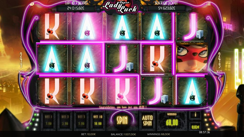 Super Lady Luck – аппарат о супергероях!